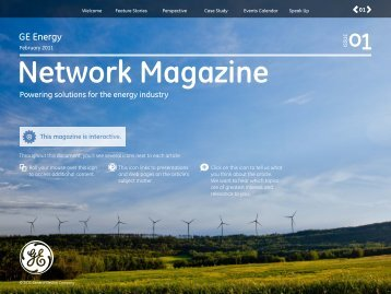 Network Magazine - GE Energy