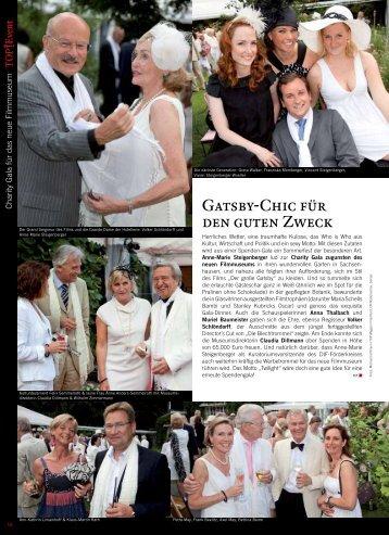 Charity Gala für das neue Filmmuseum - TOP Magazin Frankfurt