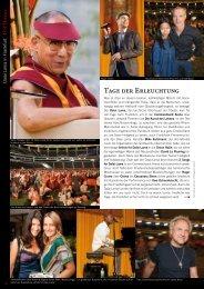 Tage der Erleuchtung - TOP Magazin Frankfurt