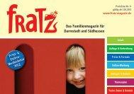 Das Familienmagazin für Darmstadt und Südhessen - Fratz