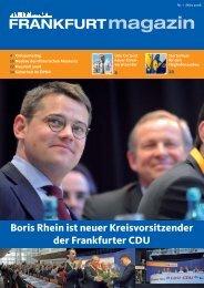 FRANKFURTmagazin - Dr. Bernd Heidenreich