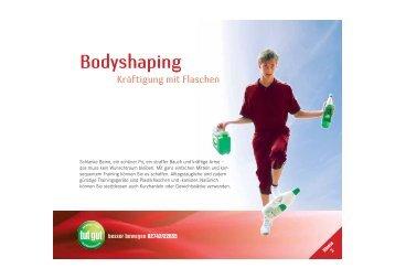 Bodyshaping - Kräftigung mit Flaschen - Sportland NÖ