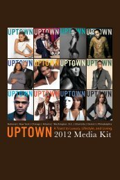 Mission Statement - UPTOWN Magazine