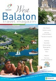 travel magazin - West-Balaton