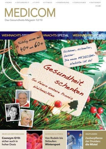 Das Gesundheits-Magazin 12/10 Zauberpflanze der ... - Medicom
