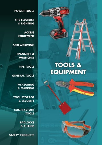 TOOLS & EQUIPMENT - Midland Fixings Group