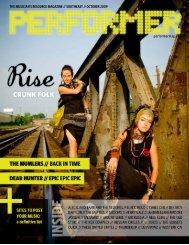 Performer Magazine - Rising Appalachia