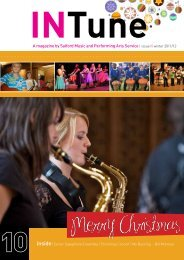 A magazine by Salford Music and Performing Arts Service | issue