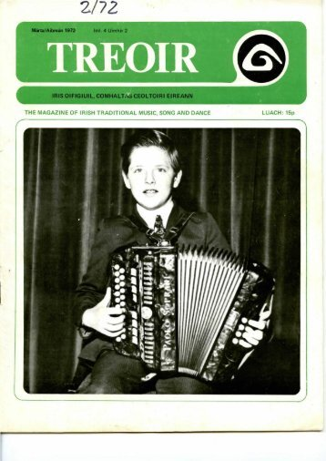 THE MAGAZINE OF IRISH TRADITIONAL MUSIC, SONG AND ...