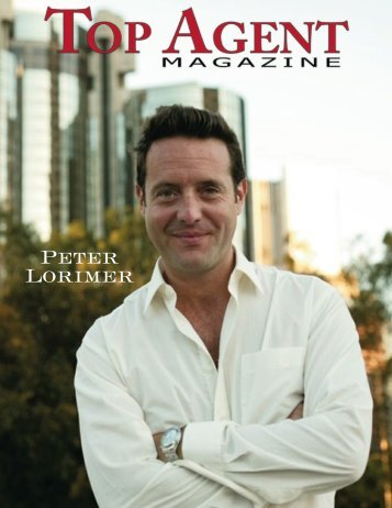 Top Agent Magazine - Peter Lorimer Group Estates