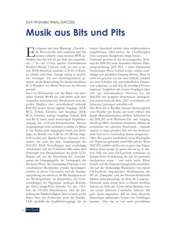 Www braun-Hifi-Forum de Magazines