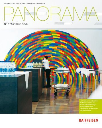 Panorama Nr. 7 / Octobre 2008 - Raiffeisen