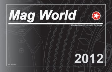 Download Mag World 2012 Catalog - Backstage Equipment
