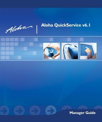 Aloha QuickService V6 - TexasPOS.com