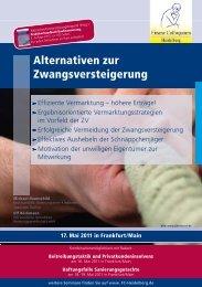 Alternativen zur Zwangsversteigerung - Finanz Colloquium Heidelberg