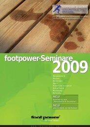 footpower Akademie 2009