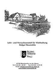 Lehr- und Versuchsanstalt für Viehhaltung Hofgut Neumühle