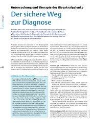 Der sichere Weg zur Diagnose - Physiotherapie Beyerlein