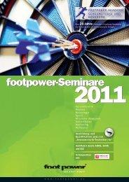 footpower-Seminare footpower-Seminare