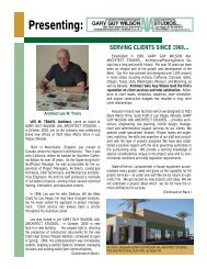 Introduction to LWT - Gary Guy Wilson Architect Studios