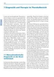 7 Diagnostik und Therapie im Thorakalbereich - Spitta