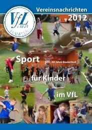Vereinsnachrichten 2012 - VfL Hameln v. 1849 eV
