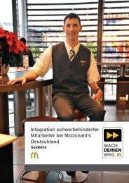 Leitfaden zur Integration schwerbehinderter ... - Wolfgang Goebel
