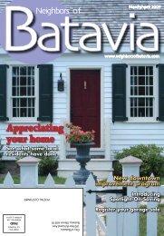 Appreciating your home - Neighbors of Batavia
