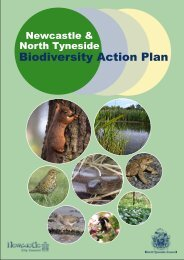 III. Species Action Plans - Newcastle City Council