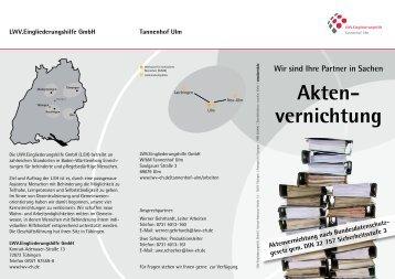 können Sie den aktuellen Informationsflyer herunterladen. - LWV ...
