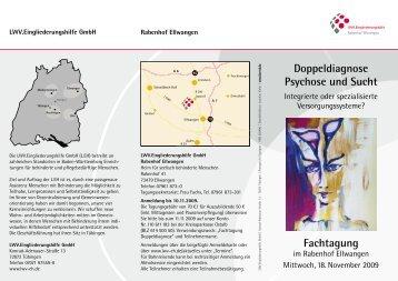 Fachtagung Doppeldiagnose Psychose und Sucht - LWV ...