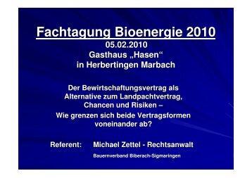 Vortrag Bewirtschaftungsvertrag Zettel KBV BC-Sig Marbach 5.02 ...