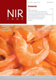 Publish in the NIR community's own journal: JNIRS - IM Publications