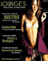 Revista Lounge`s - Edicion Septiembre 3007