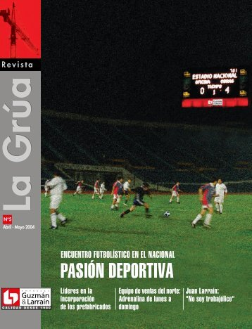 Page 1 I istcl Guzmán &Larra|n CALIDAD DESDE 1980 Rev Page 2 ...