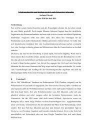 Erfahrungsbericht zum Studium an der Lunds Universitet, Schweden ...