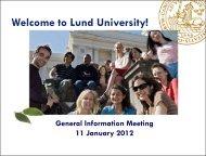 Student Chaplaincy - Lund University - Lunds universitet
