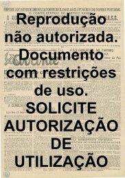 Reprodução não autorizada. Documento com restrições de uso ...