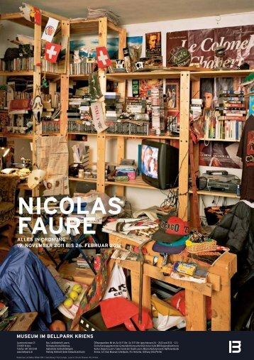 NICOLAS FAURE - Museum im Bellpark
