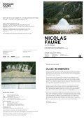 NICOLAS FAURE - Museum im Bellpark - Seite 2