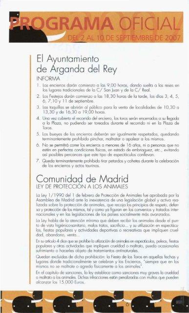 saludo del alcalde - Archivo de Arganda del Rey