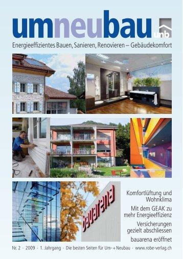 Ausgabe 2/09 als PDF - Robe Verlag