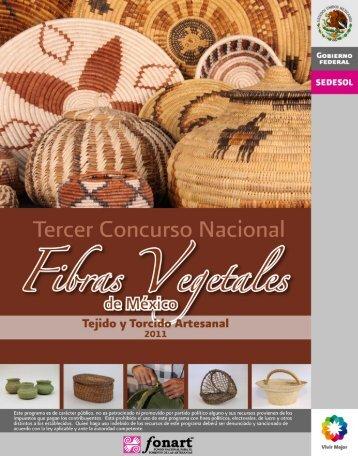 Concurso de Fibras Vegetales - Fonart