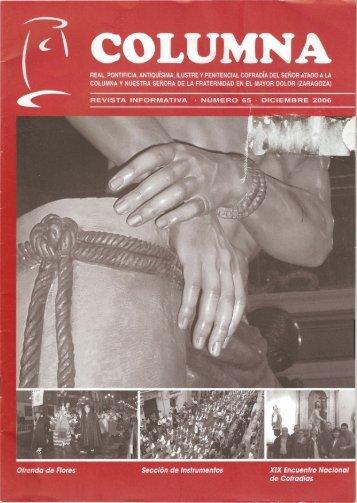 revista .PDF - WEB OFICIAL Cofradia LA COLUMNA · Zaragoza