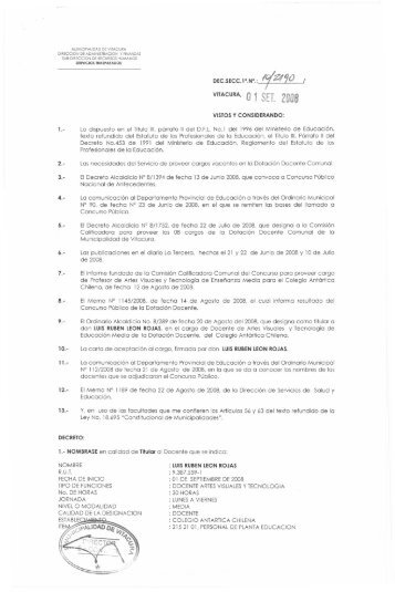 ZU08 - Municipalidad de Vitacura