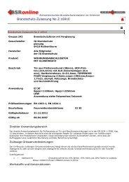Brandschutz-Zulassung No Z 16910 - IG Brandschutz ...