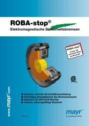 ROBA-stop® - Mayr