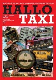 mechanisch – digital – fiskal - bei Taxi 60160