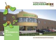 Neu: Ab Dezember 2012 - Ascherapark