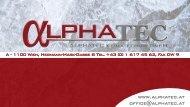 Präsentation - PDF - ALPHATEC Klimatechnik GmbH